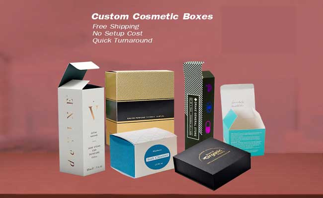 Highlight The Beauty Of Custom Cosmetics Boxes With Printed Kraft Material